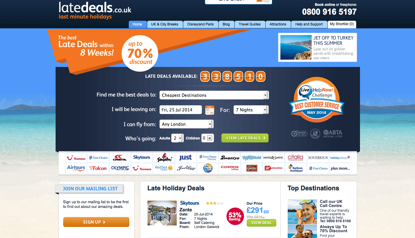 интернет реклама в туризме примеры