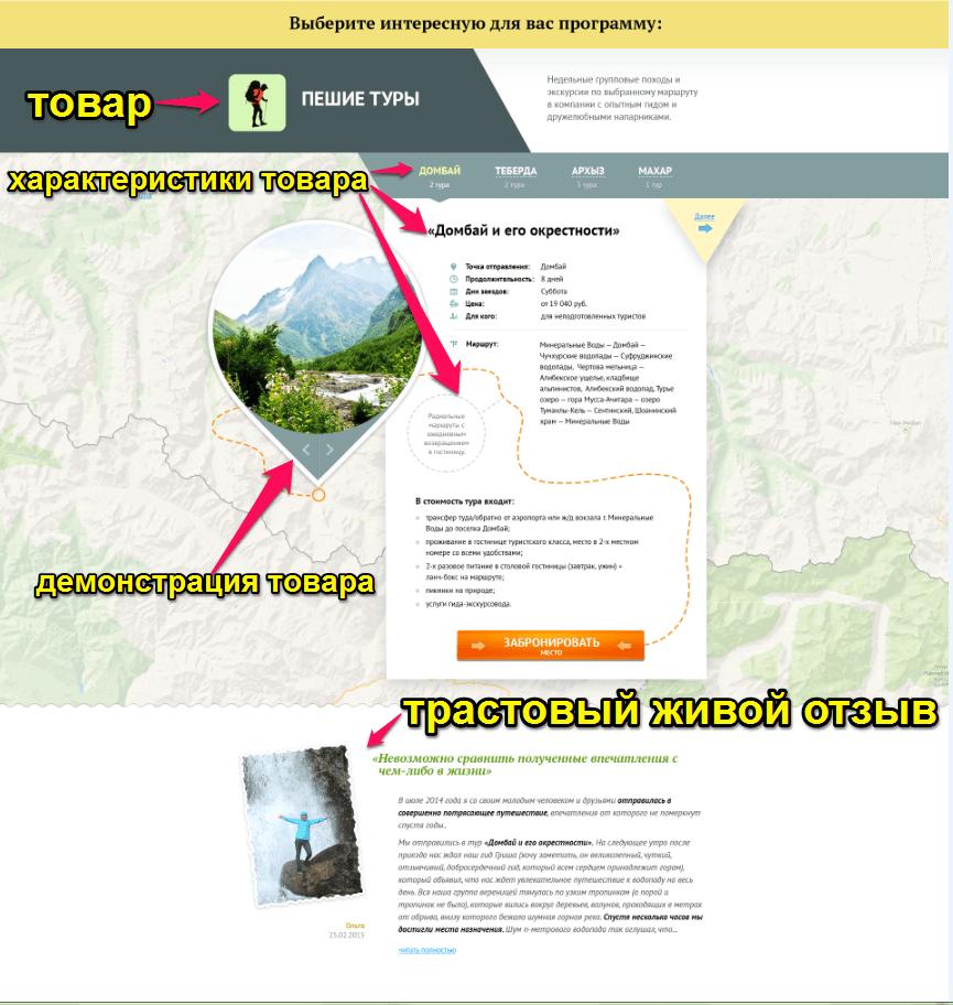 Дизайн ver.1 локальное меню