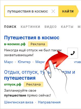 Мобильное объявление яндекс директ