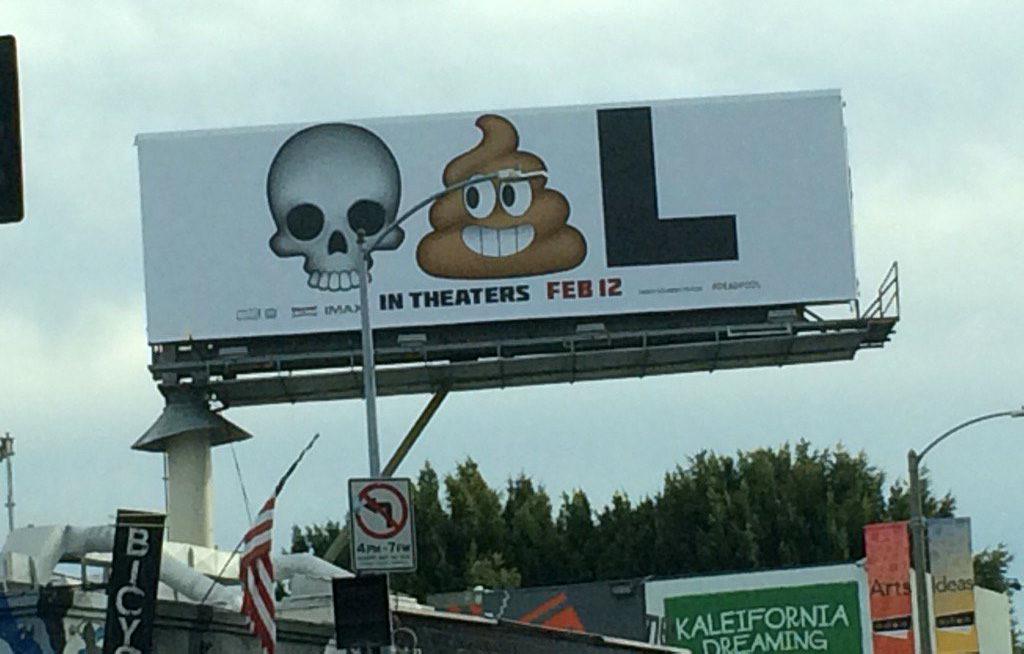 emoji в наружной рекламе