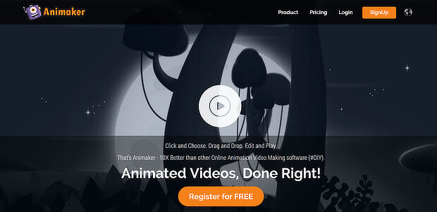 content creation tools - animaker