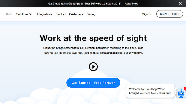use CloudApp for visual content creation