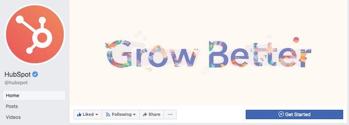 facebook переплет-фото-пример-HubSpot
