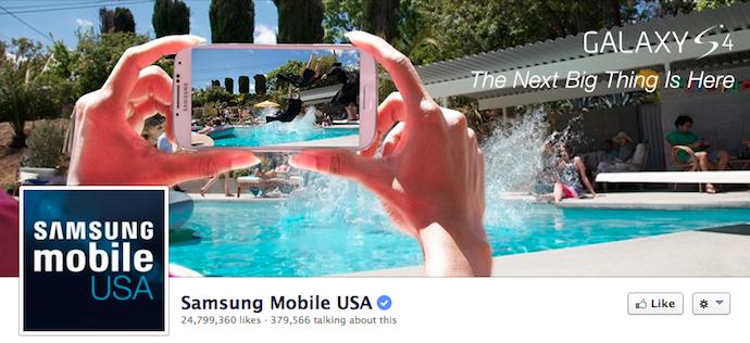 фото на обложке samsung mobile по левому краю