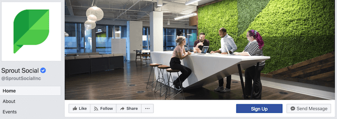 росток социальный фейсбук обложка фото