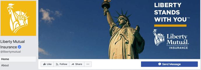 выровненный по праву facebook обложка фото