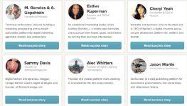 Истории сотрудников Enterprise CRM Salesforce