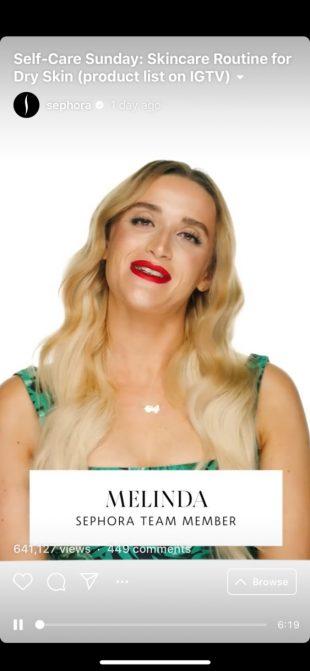 IGTV Sephora