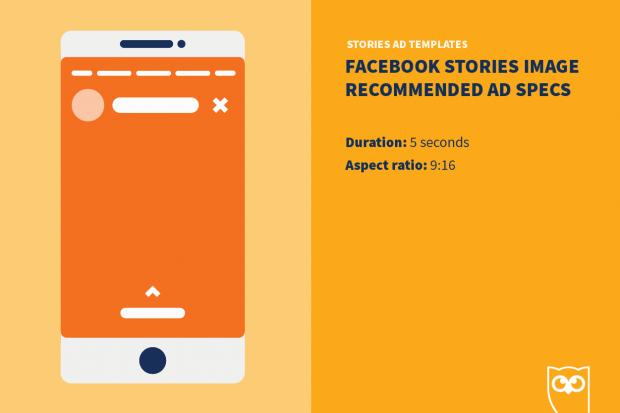 Шаблоны рекламных объявлений в Facebook Stories