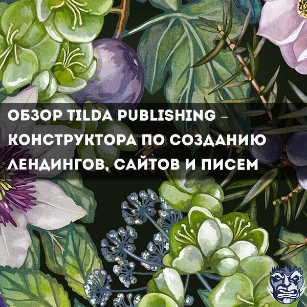 Обзор сервиса Tilda Publishing – конструктора по созданию лендингов, сайтов и писем