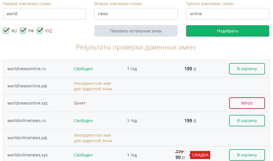 домен доменное имя доменная зона