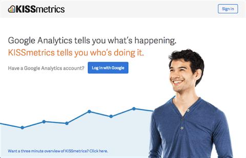 KISSmetrics - инструмент для оптимизации интернет-бизнеса