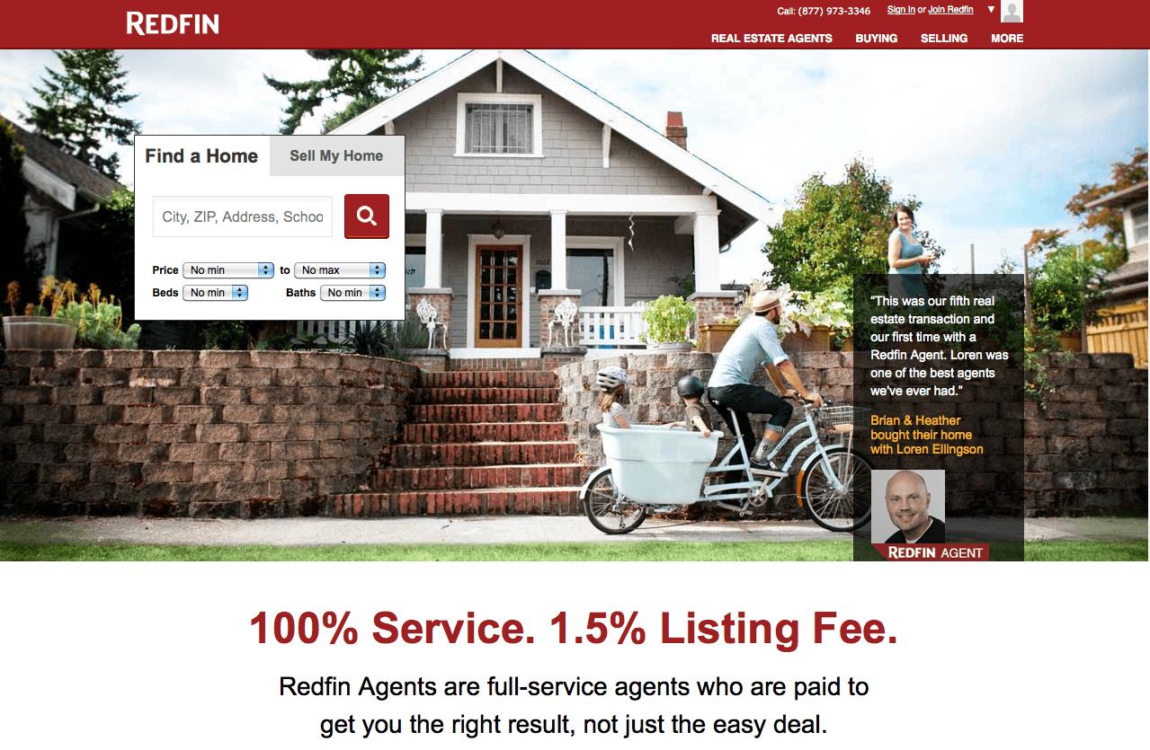 Landing page недвижимость
