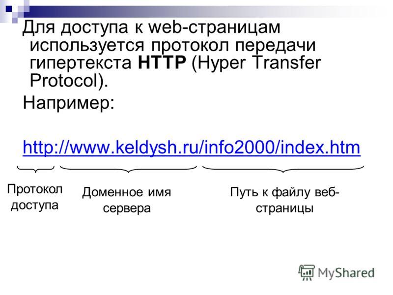 пример протокола http