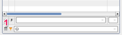 Кнопка показа архивных данных и фильтр