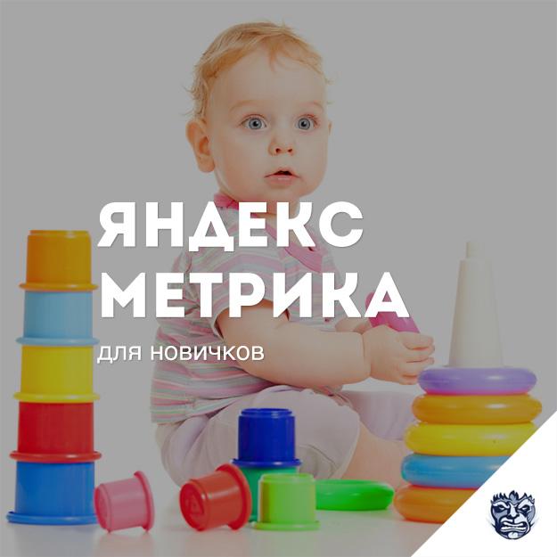 Настройки Яндекс Метрики для новичков