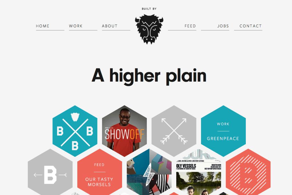 Пример landing page дизайн студия портфолио
